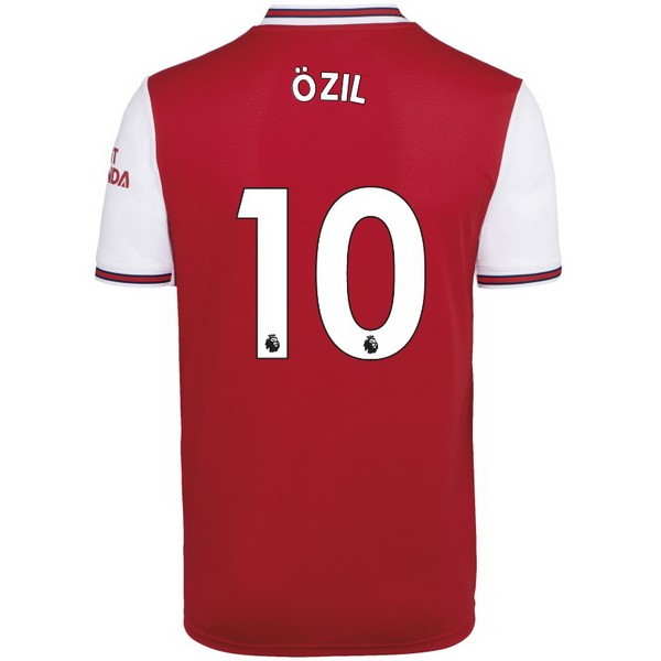 Camiseta Arsenal NO.10 Ozil 1ª 2019/20 Rojo
