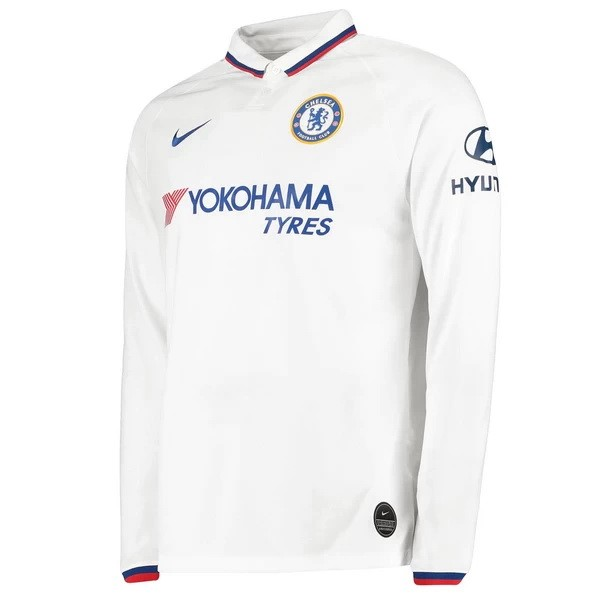 Camiseta Chelsea 2ª ML 2019/20 Blanco