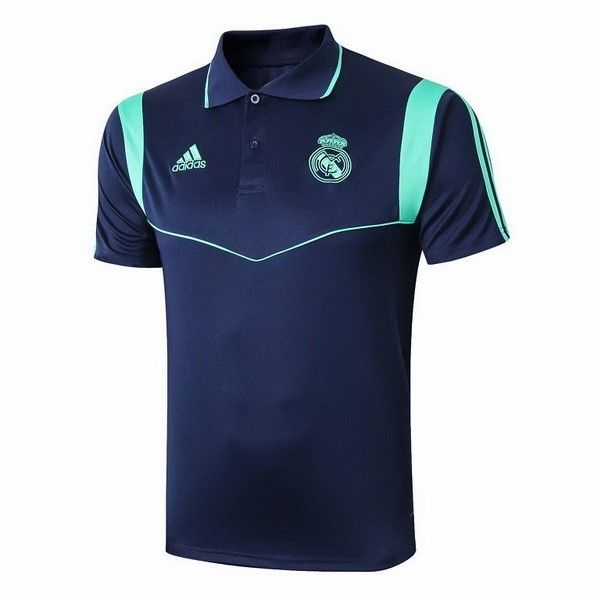 Replicas Polo Real Madrid 2019/20 Azul Verde Marino
