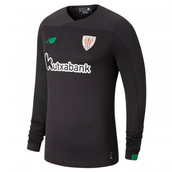 Replicas Camiseta Athletic Bilbao ML Portero 2019/20 Gris Negro