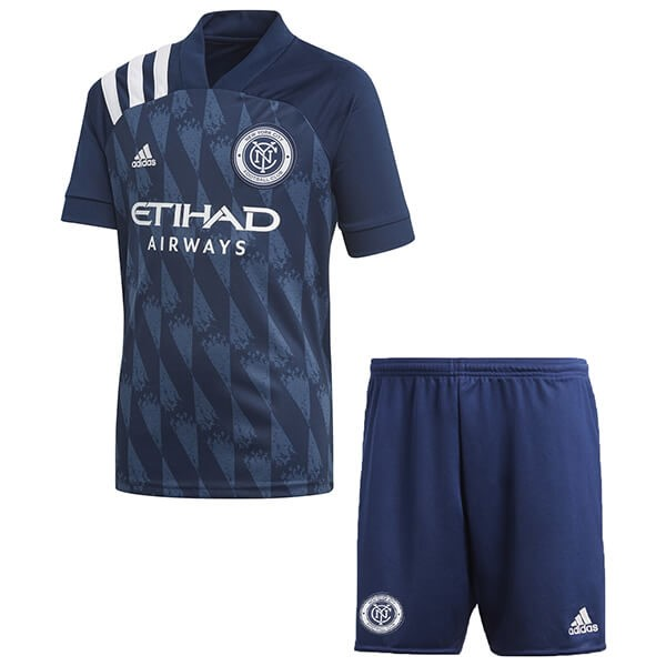 Replicas Camiseta New York City 1ª Niños 2020/21 Azul