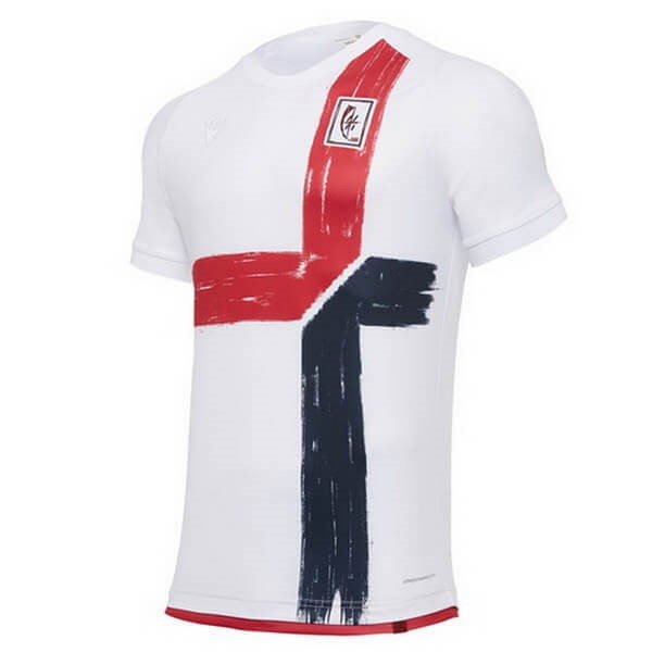 Tailandia Replicas Camiseta Cagliari Calcio 120th Blanco