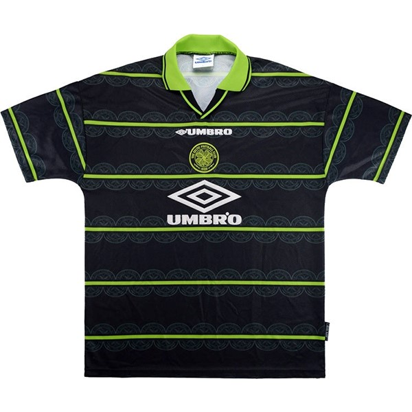 Camiseta Celtic 2ª Retro 1998 1999 Verde