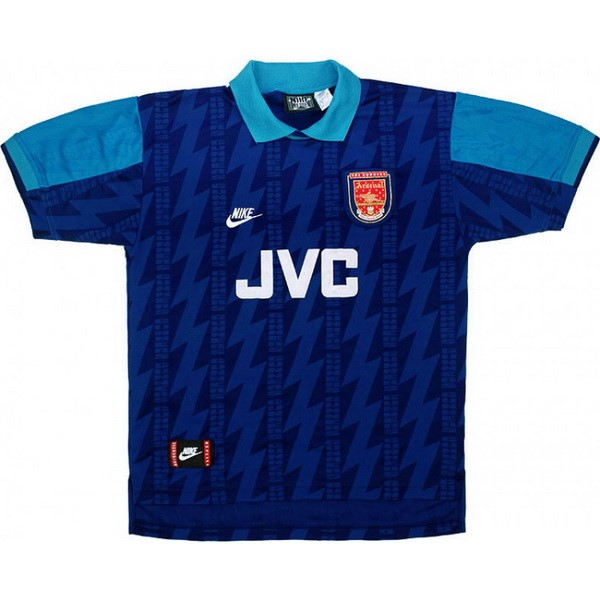 Camiseta Arsenal 2ª Retro 1994 1995 Azul
