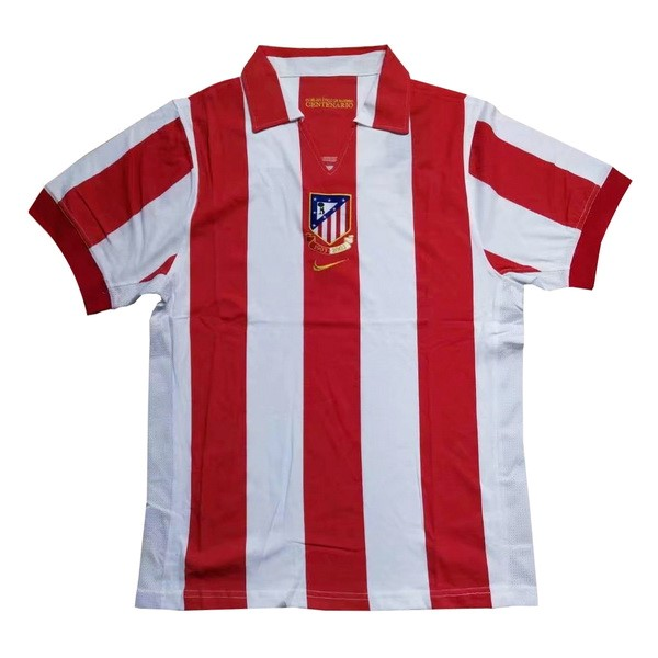 Camiseta Atletico Madrid 1ª Retro 1903 2003 Rojo