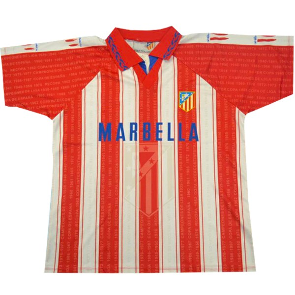 Camiseta Atletico Madrid 1ª Retro 1995 1996 Rojo