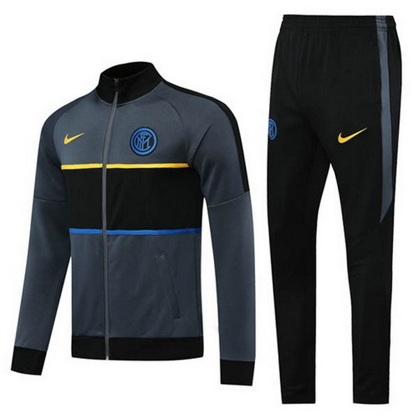 Chandal Inter 2020/21 Negro Gris