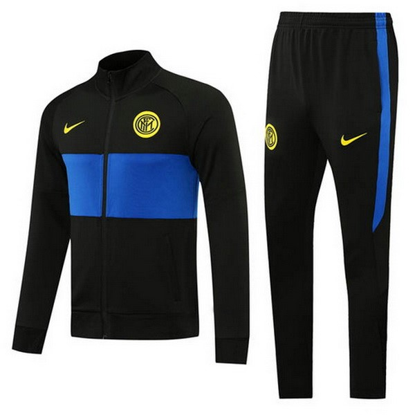 Chandal Inter 2020/21 Negro Azul Amarillo