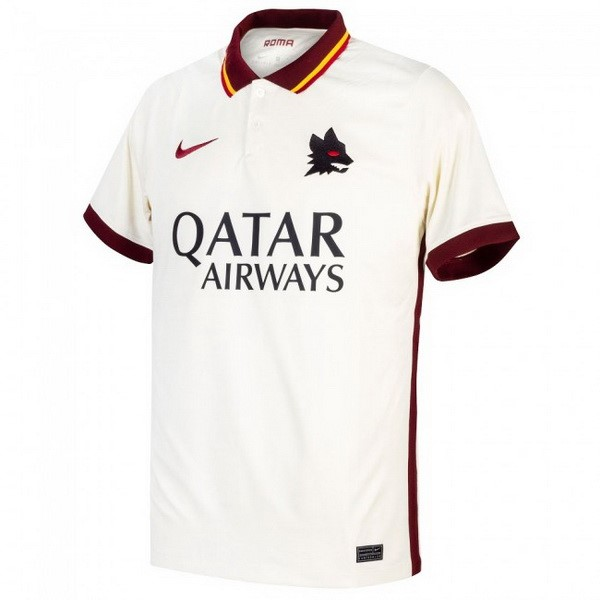 Camiseta As Roma 2ª 2020/21 Blanco