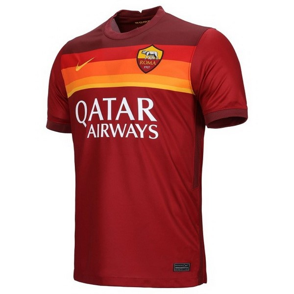 Tailandia Camiseta As Roma 1ª 2020/21 Rojo