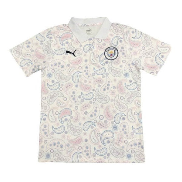 Polo Manchester City 2020/21 Blanco