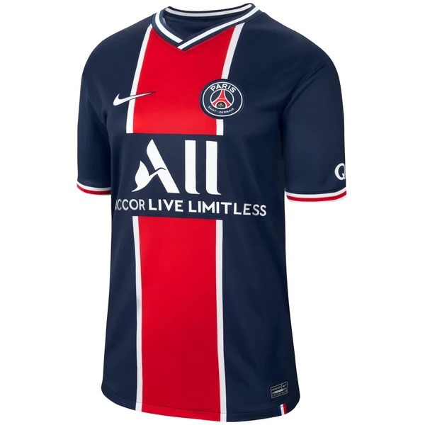 Tailandia Camiseta Paris Saint Germain 1ª 2020/21 Azul