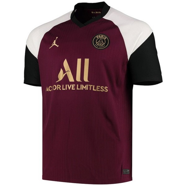Camiseta Paris Saint Germain 3ª 2020/21 Borgona