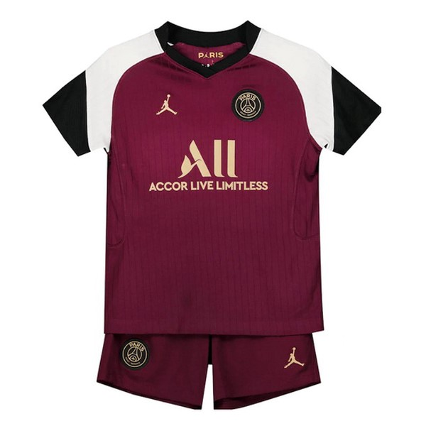 Camiseta Paris Saint Germain 3ª Niño 2020/21 Borgona