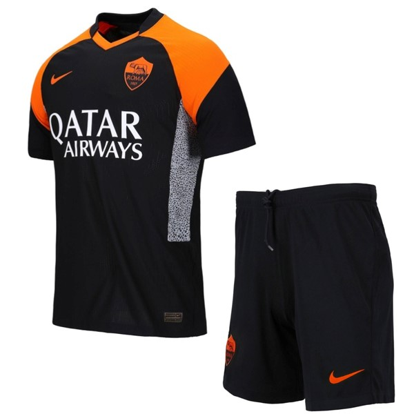 Camiseta AS Roma 3ª Niño 2020/21 Negro