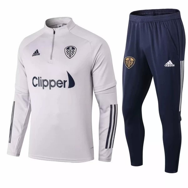 Chandal Leeds United 2020/21 Gris Negro