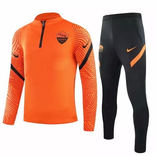 Chandal AS Roma 2020/21 Naranja Negro