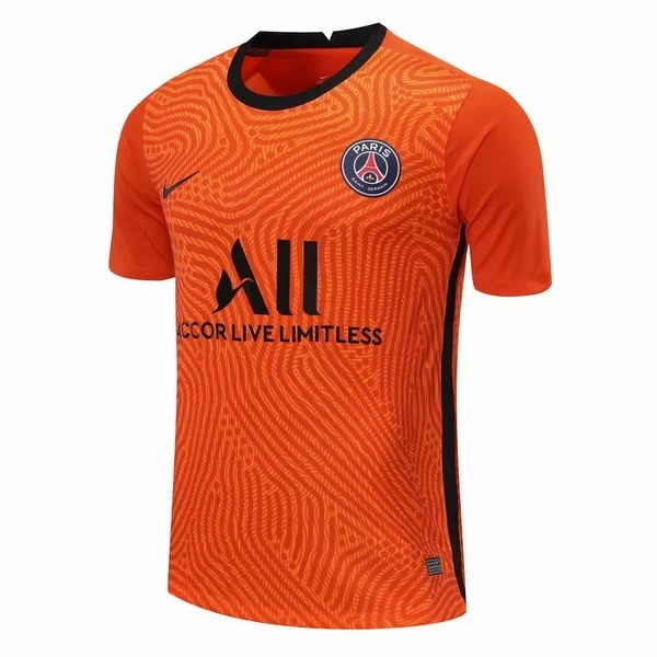 Camiseta Paris Saint Germain Portero 2020/21 Naranja