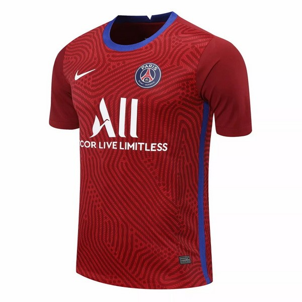 Camiseta Paris Saint Germain Portero 2020/21 Borgona
