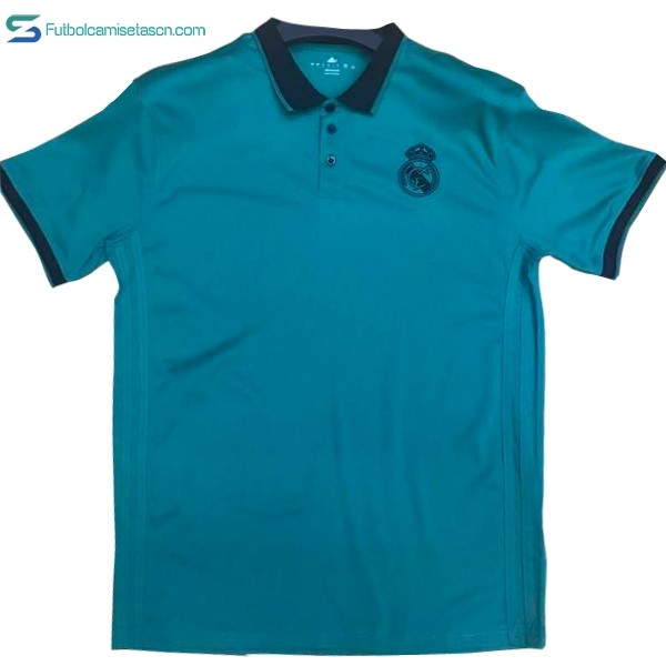 Polo Real Madrid 2017/18 Negro Azul