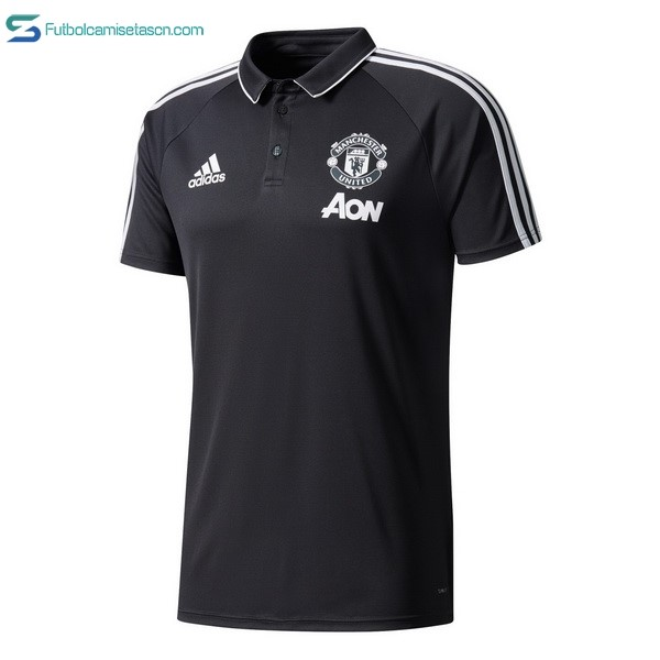 Polo Manchester United 2017/18 Negro