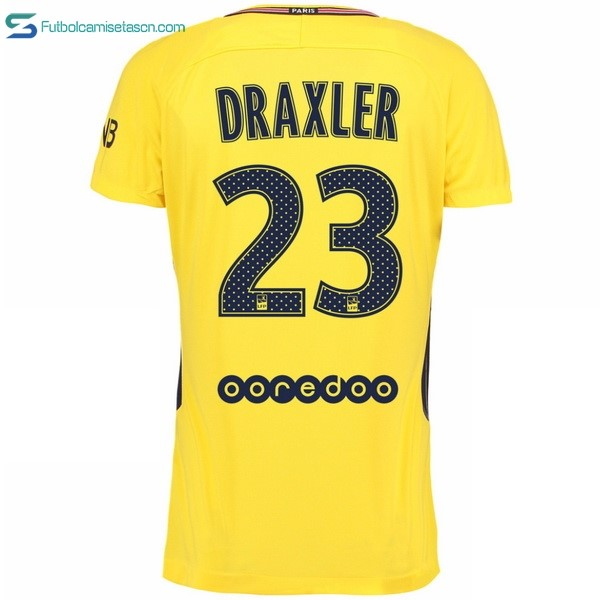 Camiseta Paris Saint Germain 2ª Draxler 2017/18