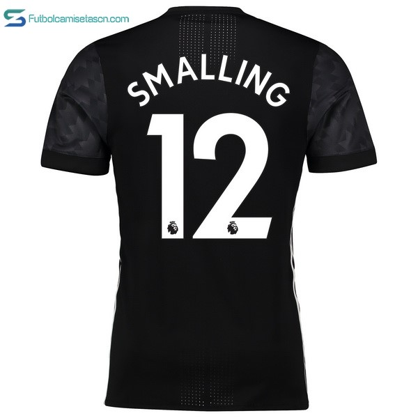 Camiseta Manchester United 2ª Smalling 2017/18