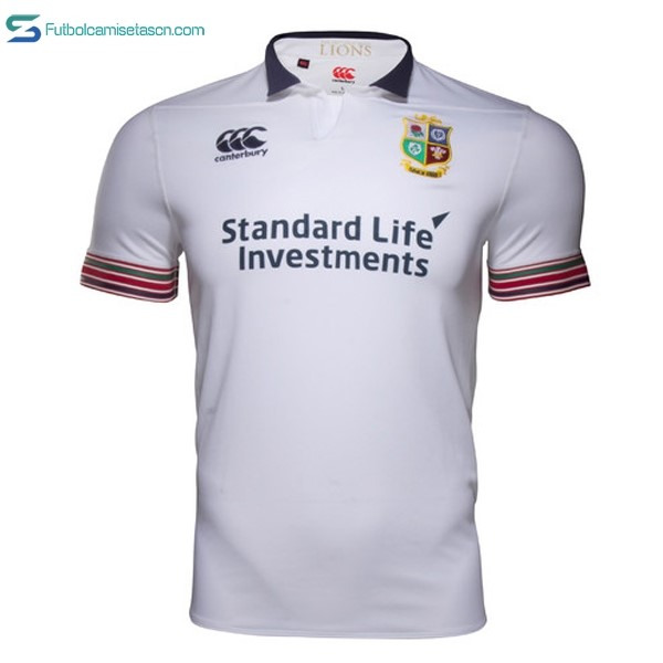 Camiseta Rugby British and Irish Lions Canterbury 3ª 2016/17
