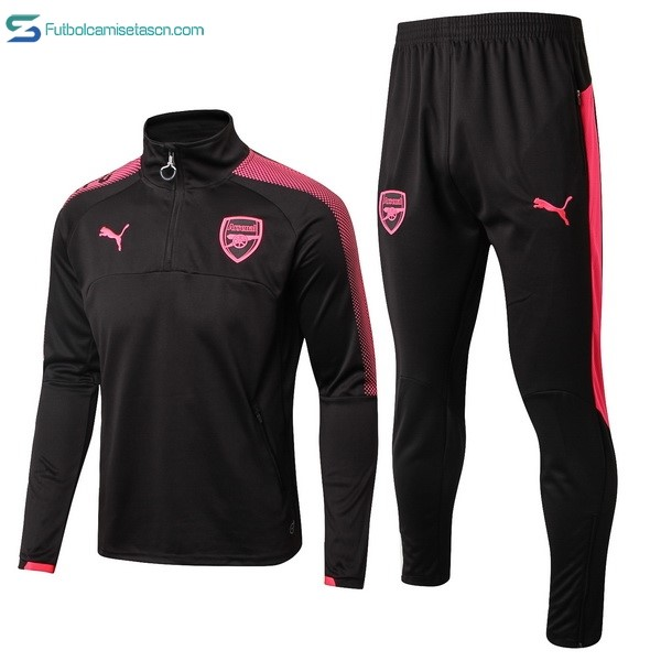 Chandal Arsenal 2017/18 Negro Rojo