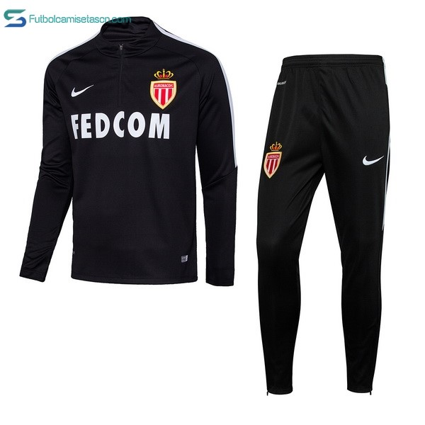 Chandal AS Monaco 2017/18 Negro
