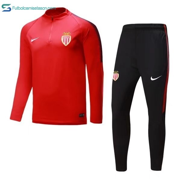 Chandal AS Monaco 2017/18 Rojo B