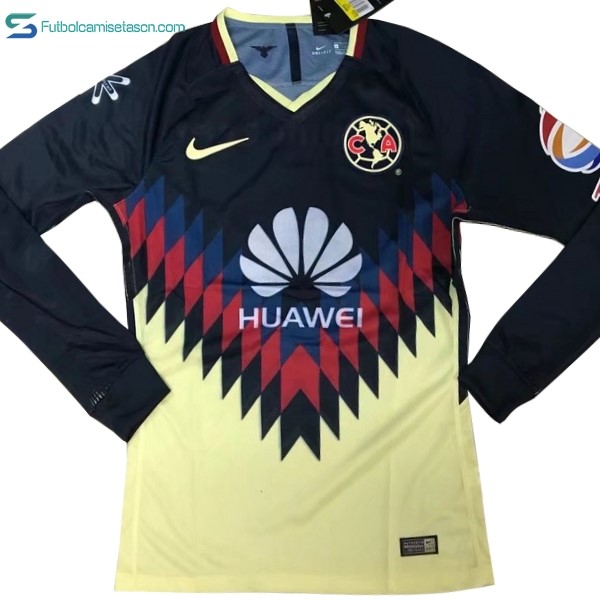 Camiseta Club América 1ª ML 2017/18