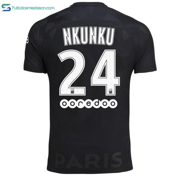 Camiseta Paris Saint Germain 3ª Nkunku 2017/18