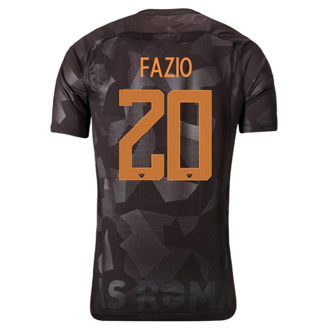 Camiseta AS Roma 1ª Fazio 2017/18
