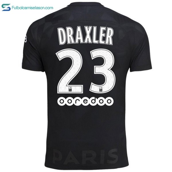 Camiseta Paris Saint Germain 3ª Draxler 2017/18