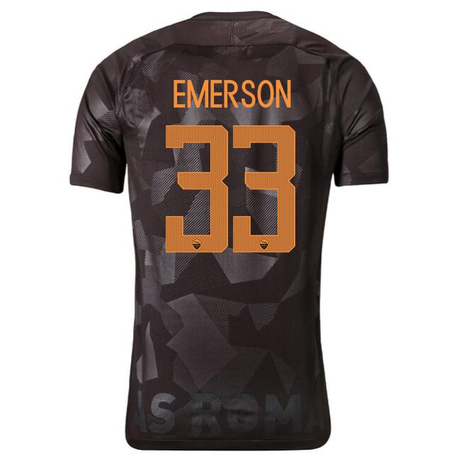 Camiseta AS Roma 1ª Emerson 2017/18