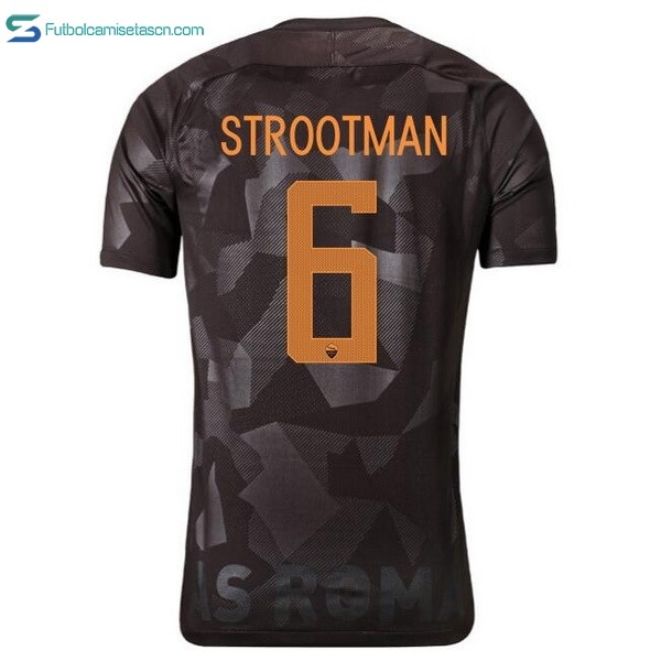 Camiseta AS Roma 3ª Strootman 2017/18