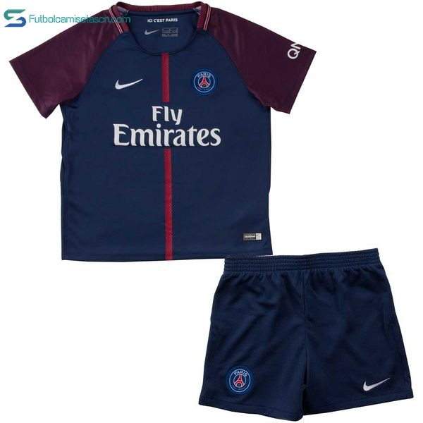 Camiseta Paris Saint Germain Niños 1ª 2017/18