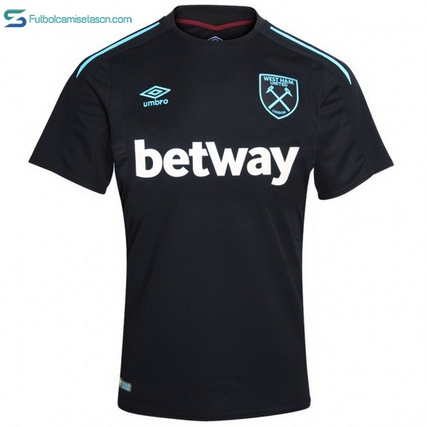 Camiseta West Ham United 2ª 2017/18