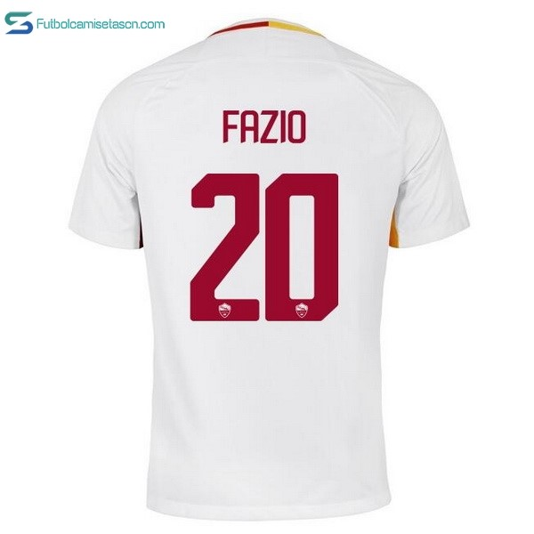 Camiseta AS Roma 2ª Fazio 2017/18