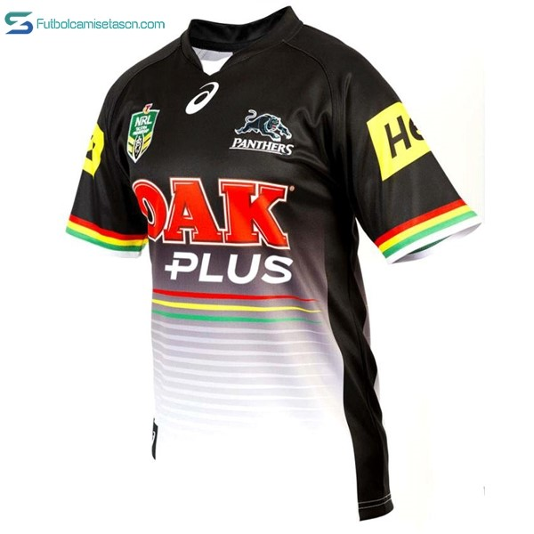 Camiseta Rugby Penrith Panthers Asics 1ª 2017