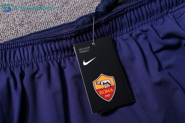 Chandal AS Roma 2017/18 Azul Marino Rojo