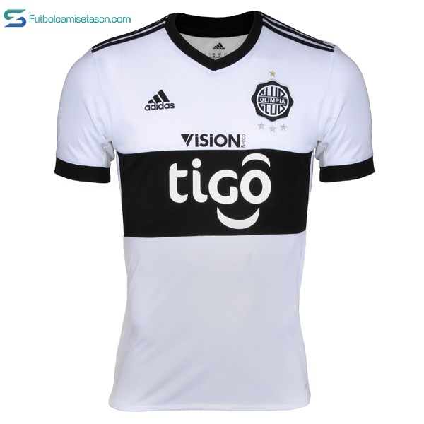 Camiseta Club Olimpia 1ª 2017/18