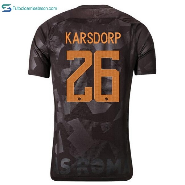 Camiseta AS Roma 3ª karsdorp 2017/18