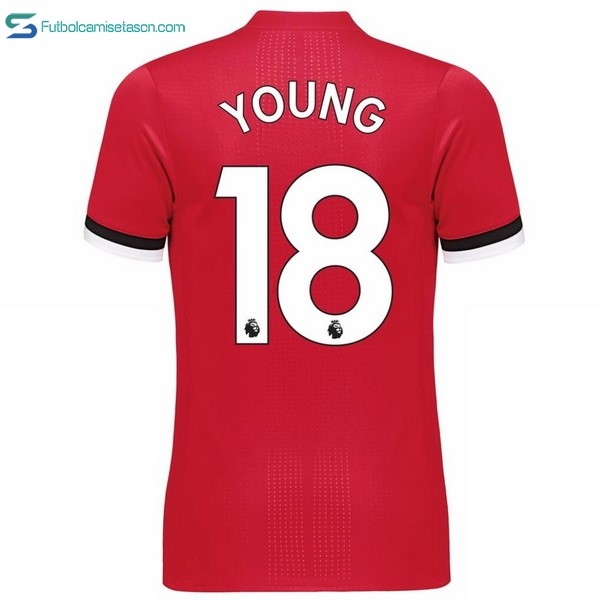 Camiseta Manchester United 1ª Young 2017/18