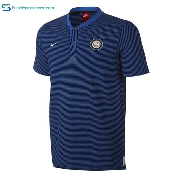 Polo Inter 2017/18 Azul