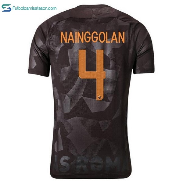 Camiseta AS Roma 3ª Nainggolan 2017/18