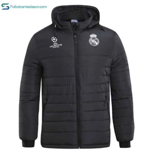 Chaqueta Real Madrid 2017/18 Down Negro