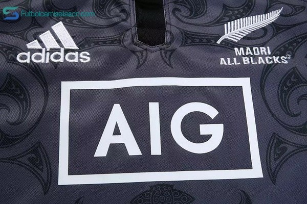 Camiseta Rugby All Blacks Maori 2016/17