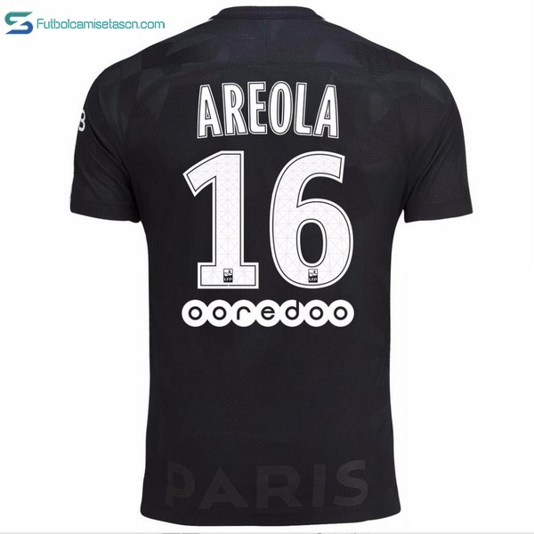 Camiseta Paris Saint Germain 3ª Areola 2017/18